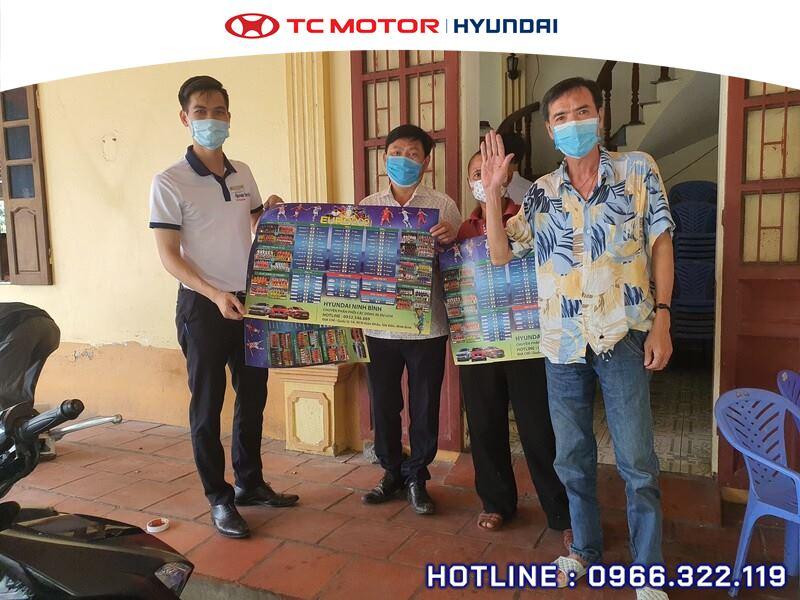 Hyundai Ninh Bình đồng hành cùng mùa giải EURO 2021